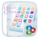 Hello color Go Launcher Theme by Freedom Design