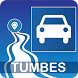 Mapa vial de Tumbes - Perú