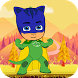 strong cat boy in adventure by ibrahim wardi funny for bean and slugs
