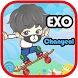EXO Chanyeol Skate by Leisure Time