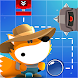 Mr. Journey Fox by Mini Duck Games