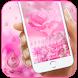 Pink Wallpaper Keyboard by Remote design studio