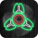 Fidget Spinner Simulator Neon Glow by Legend 3D Games