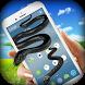 Snake On Screen - Hissing Snake in Phone Joke by Funny Mouse & Snake