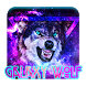 Galaxy Wolf Keyboard by Echo Keyboard Theme