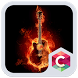Fire Guitar CLauncher Theme HD by Best Themes Workshop