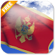 3D Montenegro Flag LWP by App4Joy
