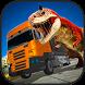 Jurassic Dino Transport Truck by FlipWired 3D Games