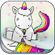 Cute Unicorn Lock Screen by Safe Lock Picture