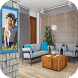 Living Room Photo Frame by Creative Photo Editors