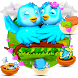 3D Animated Love Birds Theme