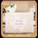Make a Wedding cards by Triangulum Studio