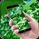 Leaf Water Drop live Wallpaper by Live Wallpaper Workshop