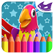 Cockatoo: 3D Coloring book