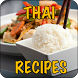 Thai food recipes by books and references