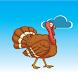 Falling Turkey - avoid eagle