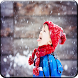 Snowfall Photo Frame by Colour Studio Apps