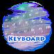 Rosy skies Keypad Skin by Electric neon