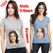 Girls T-Shirts Photo Frame by PK Apps Store