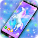 Majestic Unicorn Live Wallpaper by 3D HD Moving Live Wallpapers Magic Touch Clocks