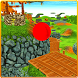 Red Bouncy Ball Balance Pro 3D by The Games Flare