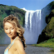 Natural Waterfall Photo Frame by Codex Apps Creators