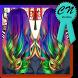 Colourful Women Hair Idea by CNstudios