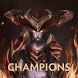 Champions of League of Legends by Sovathna