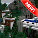 Modern House map for Minecraft by MCPE maps
