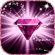 Diamond Glitter Wallpaper with Moving Background by Virtual Art 4Fun