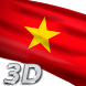 Vietnam Flag Live Wallpaper 3D by Mummy Apps
