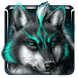 Icy wolf winter Live Wallpaper by Keyboard and HD Live Wallpapers