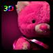 3D Teddy Bear Live Wallpaper