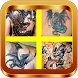 Dragon Tattoo Design by AsidiqMedia