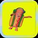 Dancing Hotdog by MOBILE GAME_APPLICATION