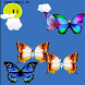 Butterfly capture game by baby children preschool games