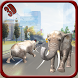 Elephant Hoverboard rider 3D by Absolute Game Studio