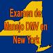 Examen de manejo DMV en New York