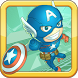 Captain Hero Jump by Captain America