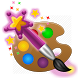 Magic Paint drawing & coloring by Planeta Kids