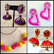 Latest Silk Thread Earrings Designs by bmks services