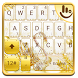 Golden Swan Keyboard Theme