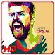 Gerard Piqué Wallpaper HD by Karangpandan