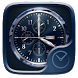 Marine Go Clock Theme by Ltd. talent