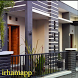 Minimalist House Terrace Design by irhamapps