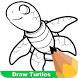 How To Draw Turtles