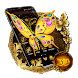 3D Luxury Golden Butterfly Launcher Theme