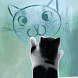 I am Cat by Launcher phone theme