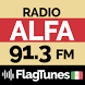 Radio Alfa 91.3 FM FlagTunes MX by SoluVision Apps-Games-Music-Entertainment & More