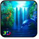 3D Waterfall Live Wallpaper
